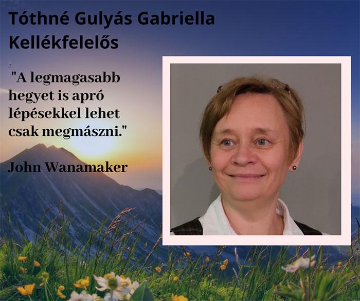 Tóthné Gulyás Gabi